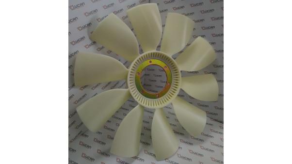 Крыльчатка вентилятора ЯМЗ-536, Borg Warner 020004782, 536-1308012
